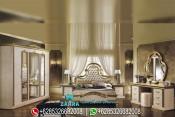 Set Kamar Tidur Mewah Italian Style Klasik Terbaru PMJ-0023