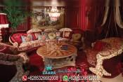 Set Kursi Sofa Sudut Mewah Klasik Model Eropa Terbaru Otello PMJ-0035