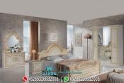 Set Tempat Tidur Klasik Mewah Model Terbaru Vendeta PMJ-0014
