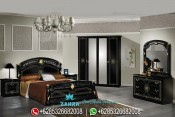Set Kamar Tidur Klasik Modern Italian Style Mewah Terbaru PMJ-0024