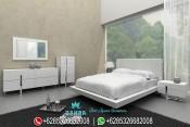 Tempat Tidur Minimalis Putih Modern Vero Terbaru PMJ-0044