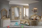 Set Kamar Tidur Klasik Modern Model Eropa Terbaru PMJ-0007