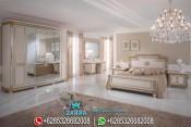 Set Kamar Tidur Klasik Modern Ukiran Mewah Terbaru PMJ-0026