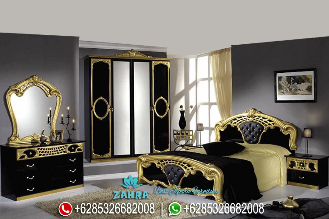 Set Kamar Tidur Mewah Boutique Duco Klasik Terbaru Sibilla PMJ-0018