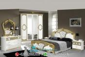 Set Kamar Tidur Mewah Model Klasik Sibilla Series PMJ-0019