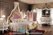 Set Kamar Tidur Pengantin Mewah Klasik Italian Style PMJ-0006