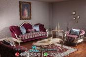 Set Kursi Sofa Tamu Mewah Ukir Terbaru Veyrona PMJ-0027