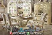 Set Meja Makan Mewah Klasik Royal Palace Terbaru PMJ-0156