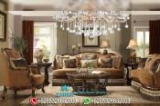 Set Sofa Ruang Tamu Mewah Model Klasik Victorian PMJ-0065