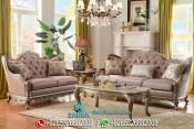 Sofa Ruang Tamu Mewah Model Fiorella Klasik Terbaru PMJ-0062