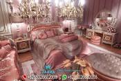 Kamar Tidur Pengantin Mewah Ukir Jepara Klasik Pandora PMJ-0039