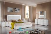 Set Kamar Tidur Minimalis Duco Putih Terbaru San Marino PMJ-0042