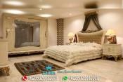 Tempat Tidur Mewah Klasik Modern Terbaru Pasa PMJ-0041