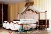 Set Kamar Tidur Jati Klasik Modern Mewah Terbaru PMJ-0124