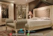 Set Kamar Tidur Mewah Modern Ukir Jepara Terbaru PMJ-0055