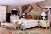 Set Tempat Tidur Pengantin Mewah Eropa Klasik Modern Terbaru PMJ-0079
