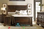Kamar Tidur Jati Minimalis Klasik Mewah Terbaru PMJ-0081